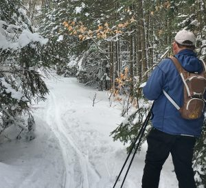Trail Around Cascade is Ungroomed